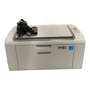 SamSung ML-2165W Monochrome Laser Printer Working Under 1k Pages Power Cord USB