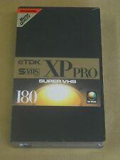 1 X TDK Super Vhs XP Pro Master Quality cinta de vídeo en blanco-Totalmente Nuevo-Sellado