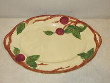 """Vintage Oval Platter Franciscan Apple 14 x 10"""" TV Mark VFC"""