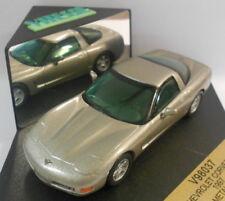 Vitesse 1/43 Scale Metal Model - V98037 CHEVROLET CORVETTE 1997 MET BROWN
