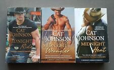 CAT JOHNSON**Complete Midnight Cowboys Series**  3 BOOKS  HTF
