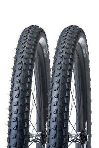 Pair of Vittoria Goma TNT 26 x 2.4 MTB Bike Tire Folding Tubeless 1000g