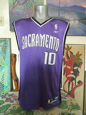 SACRAMENTO KINGS MIke BIbby REEBOK Throwback Jersey Medium