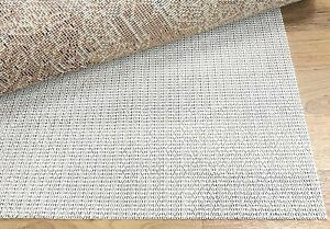 """Beige Non Slip Strong Hold Firm Grip Rug Pad (0.125"""")"""