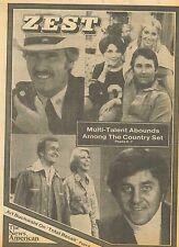 Sonny Bono Elvis Presley Roman Polanski Art Buchwald January 22 1978 C1