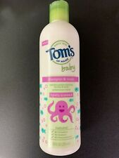 Tom's Of Main Baby Shampoo And Wash Lightly Scented 10 Fl Oz Sealed