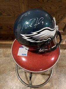 🔥Nick Foles Philadelphia Eagles Signed Full Size Helmet - PSA/DNA🔥