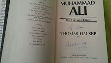 MUHAMMAD ALI SIGNED BOOK COA + PROOF! GOAT BOXING ALI AUTOGRAPH
