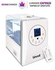 Humidificateurs à ultrasons de 6 L à vapeur chaude et froide avec télécommande