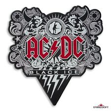"AC/DC Black Ice Music Rock Band Embroidered Back Patch Iron On SIZE: 13.2""x13.6"""