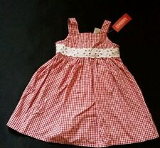NWT GYMBOREE STRAWBERRY FARM GINGHAM RED DRESS 3T 3 NEW RARE