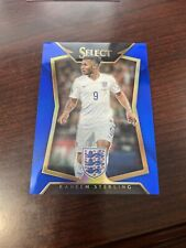 2015 Select Soccer Raheem Sterling Blue Prizm /299 Rookie RC #32 Manchester City