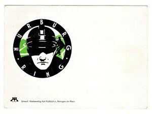 POSTCARD GERMAN 1939 NURBURGRING MOTORCYCLE EIFEL RACE (SB)