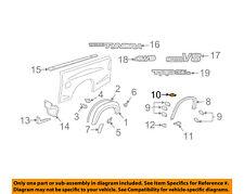 TOYOTA OEM Tundra Pick Up Box Bed-Wheel Fender Flare Molding Retainer 753920C190
