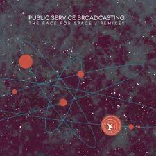PUBLIC SERVICE BROADCASTING - THE RACE FOR SPACE/REMIXES   VINYL LP + MP3 NEW+