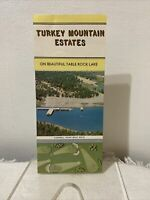 Vintage Turkey Mountain Estates Shell Knob Missouri Tourist Travel Brochure