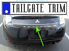 Chrome Tailgate Trunk Molding Trim - Mitsubishi