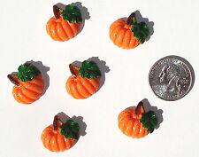 Pumpkins Resin Flatbacks hair bow embellishments scrapbooking crafts glue on