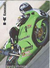 POSTCARD MOTOR BIKE - Kawasaki