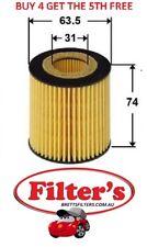 OIL Filter FIAT FIAT PUNTO 1.9L JTDM 4CYL PETROL TURBO MPFI 2006 - 2008 BTP
