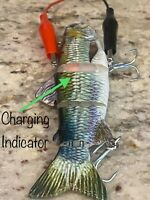 Rechargeable, USB, robotic fishing lure. Automatic Swimming bait. Must try!