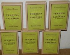 Lot of 6 CRABTREE & EVELYN VERBENA AND LAVENDER FACIAL SOAP - 29g/ 1oz Each NEW