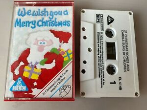 Childrens Song Cassette - Early Learning Centre - We Wish You A Merry Christmas