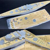 Holzdeck für 1/350 German Scharnhorst 1943 Dragon 1040 Battleship Model CY350069