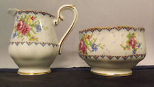 Royal Albert Petit Point Chintz Cream and Sugar. Pattern 778676. Very Nice Shape