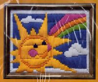 Vintage Creative Circle Crewel Embroidery Kit - U Pick - Sunshine Unicorn Xmas