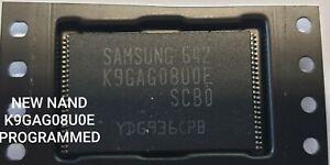 K9GAG08U0E FLASH IC PROGRAMMED SAMSUNG PN51D6500 PS51D6900 PS59D6900 -NEW TESTED
