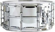 Ludwig 6.5x14 Supraphonic Chrome Smooth Shell Snare Drum w/ Tube Lugs