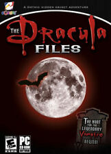 THE DRACULA FILES - Hunt for Legendary Vampire Hidden Object PC Game - NEW inBOX