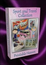 DVD card-making - sport & travel collection