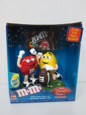00611 red & yellow &M M&M's PUNTIN PALS dispenser with BOX MISB IN STOCK