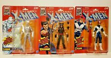 Marvel Legends The Uncanny X-Men 80 Yrs Retro 4 Fig Lot Wolverine Cyclops Iceman