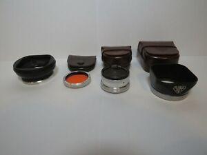 Rollei, Rolleiflex, Rolleicord Rolleinar 1, Baj. I, Bajonett I & II Sonnenblende