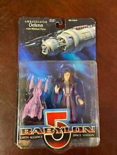 Vintage 1997 Babylon 5 Ambassador Delenn Action Figure NRFB