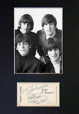 THE BEATLES - MEMORABILIA - Collectors Signed Photo + FREE SHIPPING WORLDWIDE