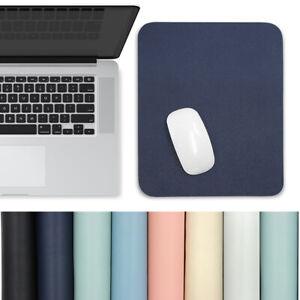Writing Mat Laptop Computer Keyboard Mice Mat Mouse Pad Desk Mat PU Leather