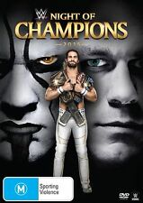 WWE - Night Of Champions 2015 (DVD, 2015) - Region 4