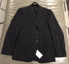 dc3ee2509d NWT Theory Malcolm Marlo New Tailor Solid Black Stretch Wool Suit 42R 32 33  $840