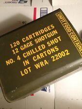 WWII USGI  TRENCH SHOTGUN  AMMO CAN HAM CAN  WW2 Empty USA army usmc military