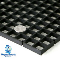 Grid Divider Tray Egg Crate Aquarium Fish Tank Filter Bottom Isolate BLACK X 2