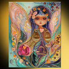Fairies of Zodiac series - Libra super quality pop art print by Elena Kotliarker