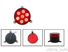 1psc LED Schwanz hinten STOP Bremse rotes Licht Innerer Ring 12V Anhänger LKW