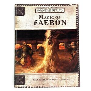D&D Dungeons and Dragons Magic of Faerun Forgotten Realms RPG Paperback