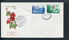 Ned.Nieuw Guinea FDC E8 - E 8, Veilig Verkeer 1962, blanco, ds Biak