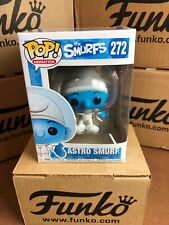 Funko POP! The Smurfs ASTRO SMURF Vaulted Figure & Protector
