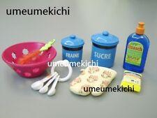 Re-ment dollhouse miniature measuring spoons detergent glove sieve seasoning